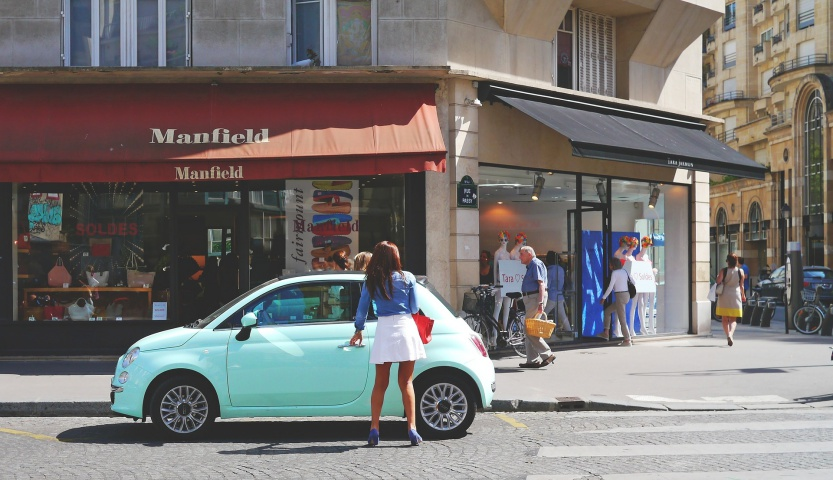 paryż parkowanie